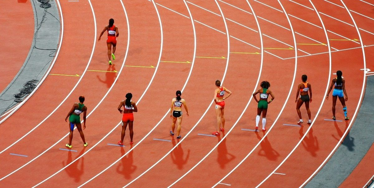 race, track and field, running